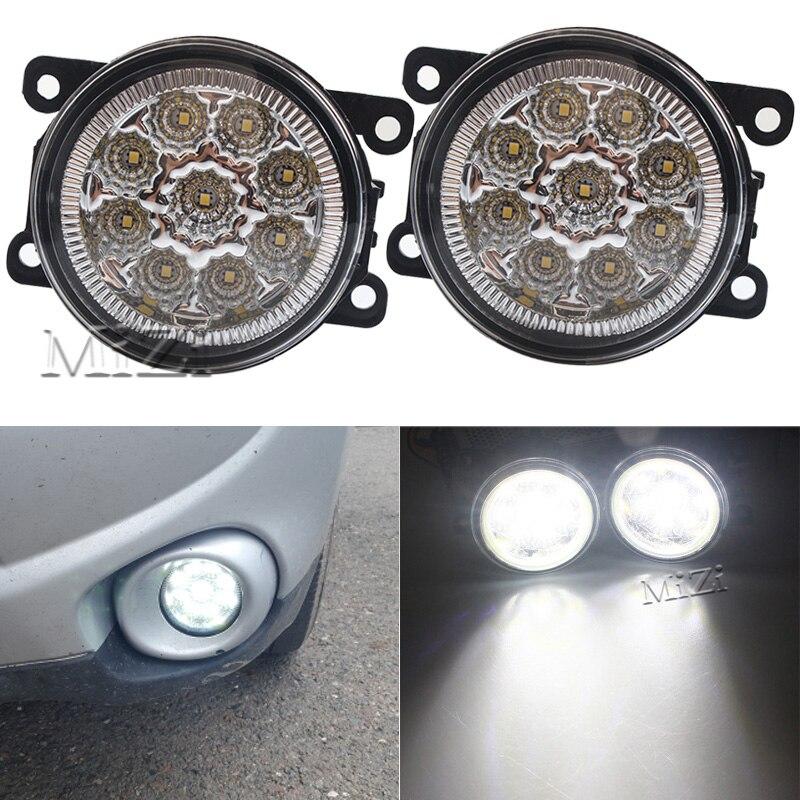 1 par de niebla lámparas 9 luces LED DRL de iluminación para Renault DUSTER latitud LOGAN Laguna MEGANE 2/3/CC salón ¿LM0 LM1 coche-estilo