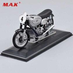 Brinquedos para crianças 1:22 italeri ajs e90 500cc campeão do mundo 1949 moto diecast motocicleta modelo coleção brinquedo