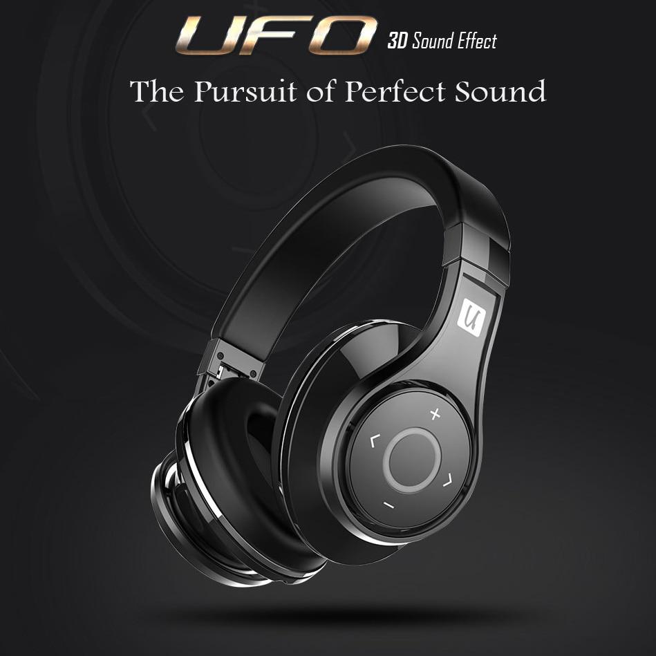 Bluedio u (ufo) high-end bluetooth fones de ouvido koptelefoon 8 drivers baixo surround estéreo de alta fidelidade música auriculares fone de ouvido sem fio