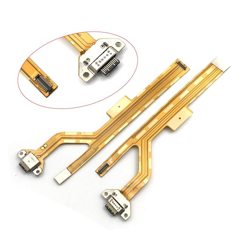 10 unids/lote, para ZTE Nubia Z17Mini NX569J, conector USB, cargador, puerto de carga, piezas de reparación de placa