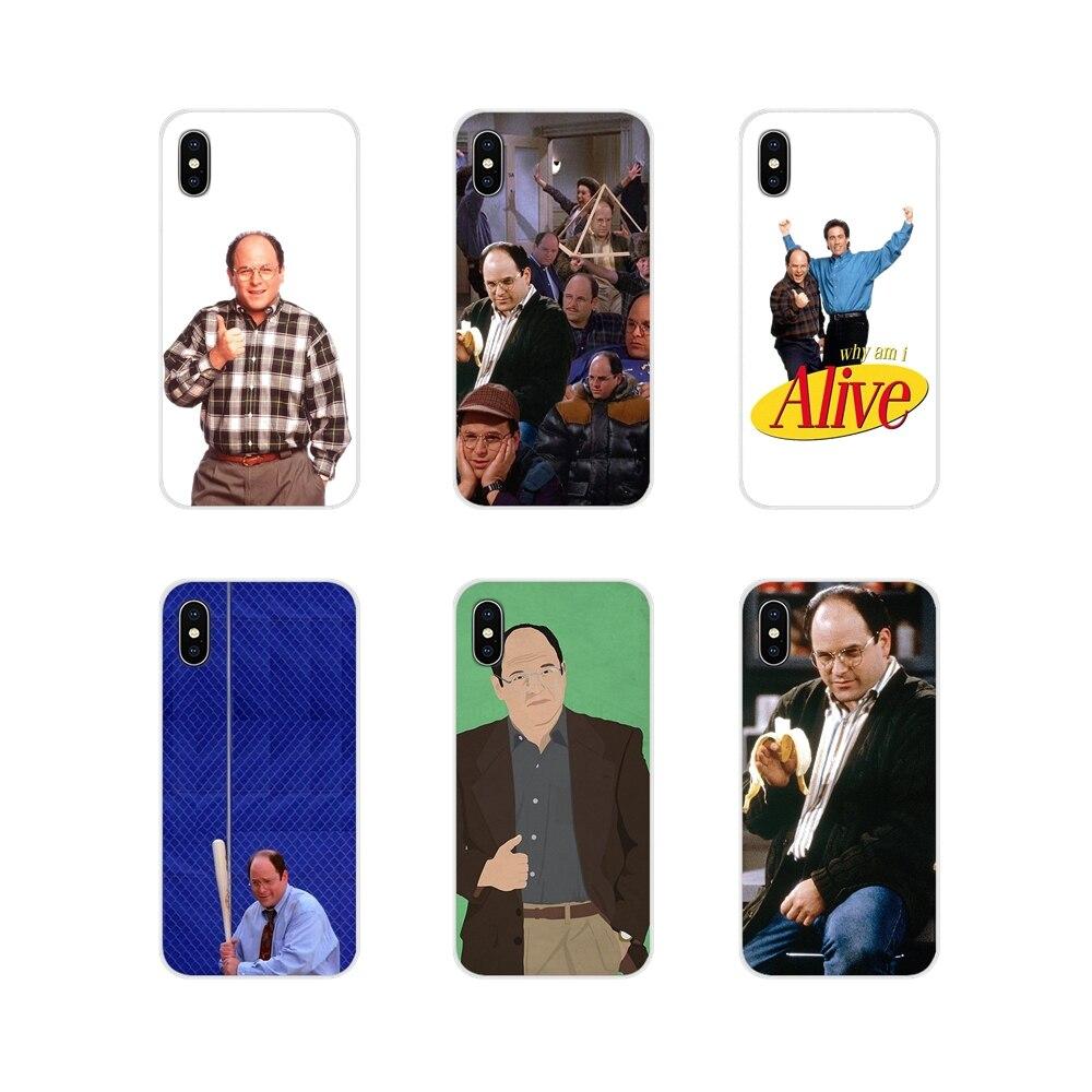 George Costanza para Samsung Galaxy S4 S5 MINI S6 S7 borde S8 S9 S10 Plus nota 3 4 5 8 9 accesorios fundas de teléfono
