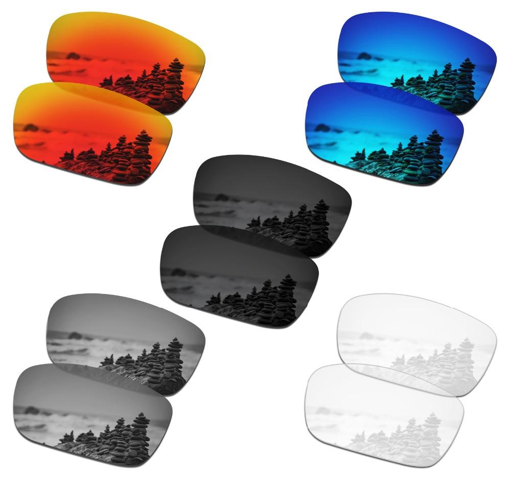 SmartVLT-5 أزواج من النظارات الشمسية المستقطبة ، عدسات بديلة لـ Oakley Drop Point - 5 ألوان