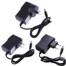 ALLOYSEED Negative Pole 9V 300mA EU US AU AC to DC Power Adapter Converter 5.5*2.5mm Center Negative Pole of 5.5*2.1mm Plug