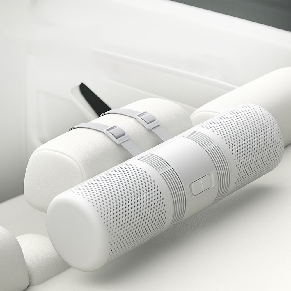 Smartmi-purificador de aire para coche, purificador de aire, humidificador para la salud, 70m, 3/H, PM 2,5, Detector purificador, doble filtro