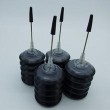 حبر أسود عالمي يعتمد على الصبغة لجميع طابعة Epson النافثة للحبر بجودة جيدة