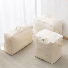 Quilt Storage Bag 2018 New Closet Organizer Oxford Cloth Clothes Bed Linings Quilt Dustproof Moisture-proof Handbag Storage Bag