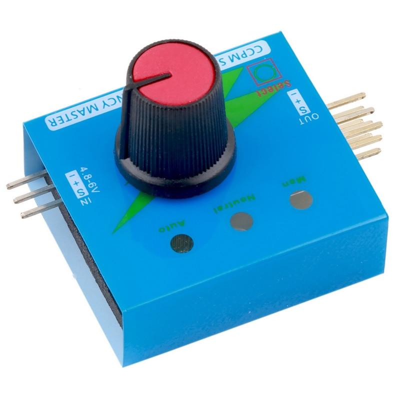 Servo Tester,10pcs/lot Multi RC Digital ESC Servo Tester 3CH ECS Consistency Speed Controler Power Channels CCPM Meter