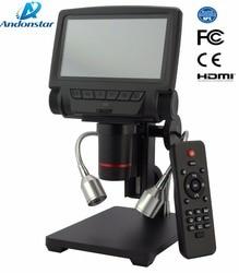 ANDONSTAR ADSM301 HDMI/USB микроскоп 3PX цифровой микроскоп для ремонта мобильного телефона паяльник bga smt часы