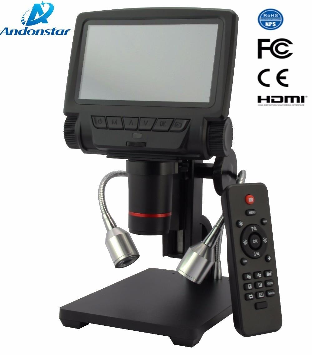 ANDONSTAR ADSM301 HDMI/USB Microscope 3PX Digital Microscope for Mobile Phone Repair Soldering Tool bga smt Watch