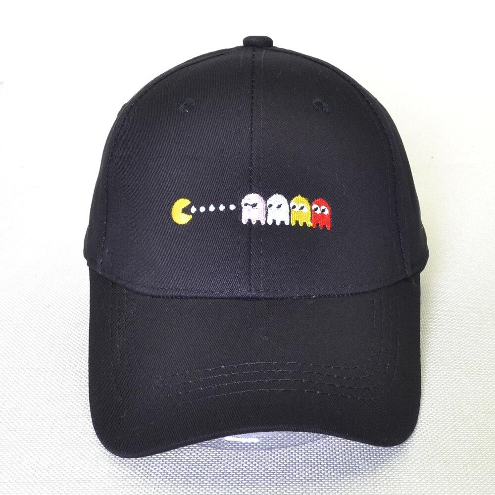 Cartoon Eat peas Dad hat100% cotton Baseball Cap Men Women Hip Hop Hats fashion Unisex Adjustable Snapback hat bone недорого