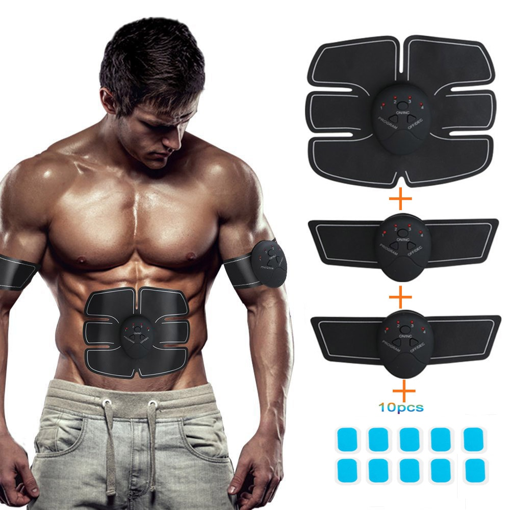 Vibration Fitness Abdominal Muscle Trainer Sport Press Stimulator Gym trainer equipment apparatus Home Electric Belly exercises xiaomi mijia yunmai electric muscle stimulator massage gun pro design kits sport equipment 5 gear vibrating wireless home gym