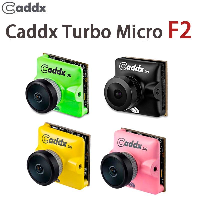 "Caddx Turbo Micro F2 1/3 ""CMOS 2,1mm 1200TVL 169/43 NTSC/PAL/baja latencia FPV Mini cámara para modelos RC actualización Caddx F1"