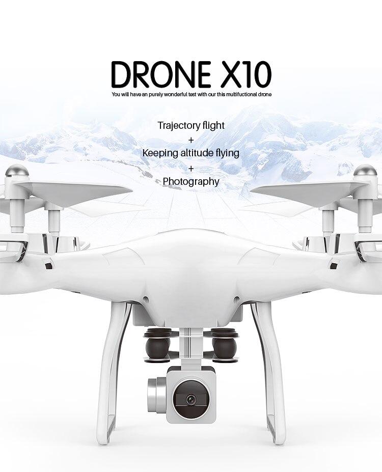 Drones câmera S10 versão Fixa 5 milhões de pixels fotografia aérea Zangão wi-fi quadcopter controle remoto de transmissão de imagem
