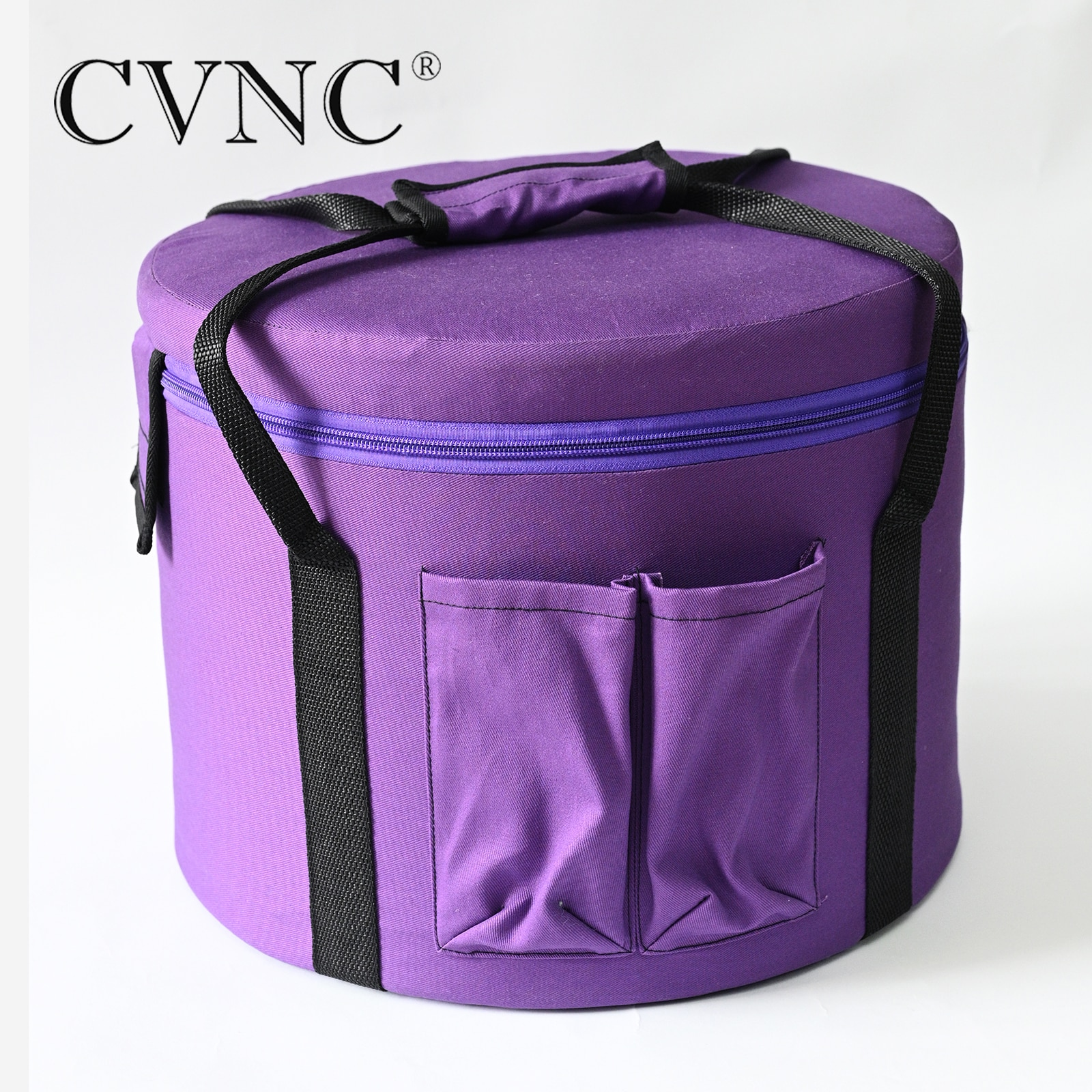 "Cvnc lona transportadora saco 11 ""para 7"" 9 ""11"" cristal cantando tigelas"