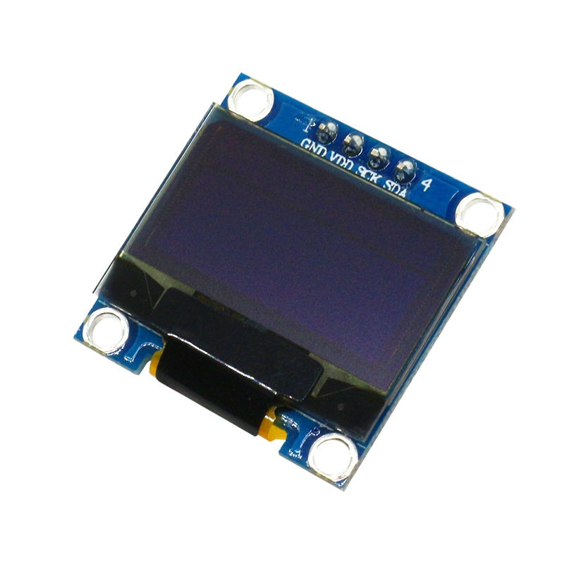 """Glyduino 128x64 12864 iic 0.96 Polegada oled lcd display led módulo amarelo azul cor dupla para arduino 0.96 """"iic spi"""