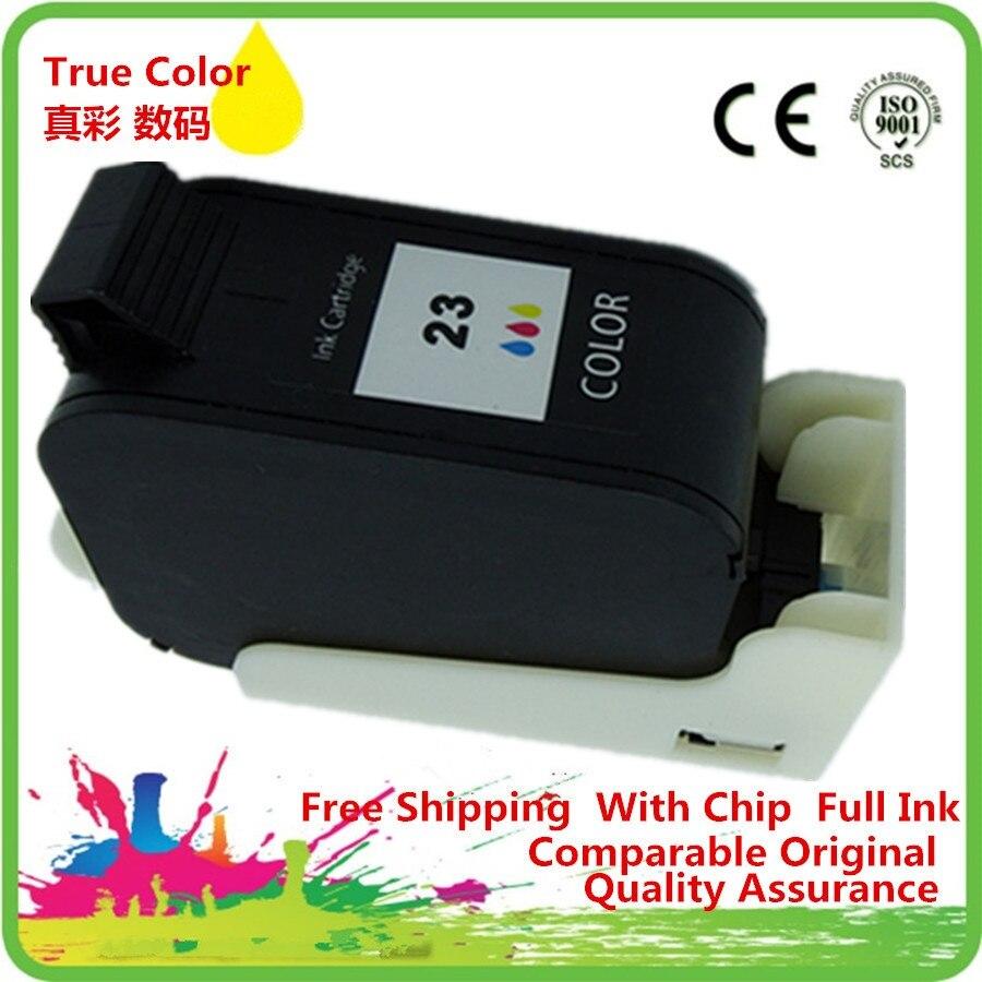Tri-Color de tinta cartuchos 23 XL 23XL HP23XL HP23 1823D Deskjet serie 832c 882c 890cse 890cxi 895cse 895cxi