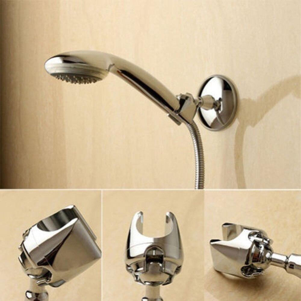 360 einstellbare Badezimmer Wand Dusche Kopf Halter Halterung Saugnapf Halterung Nützlich Bad Dusche Kopf Stand Bracket Halter
