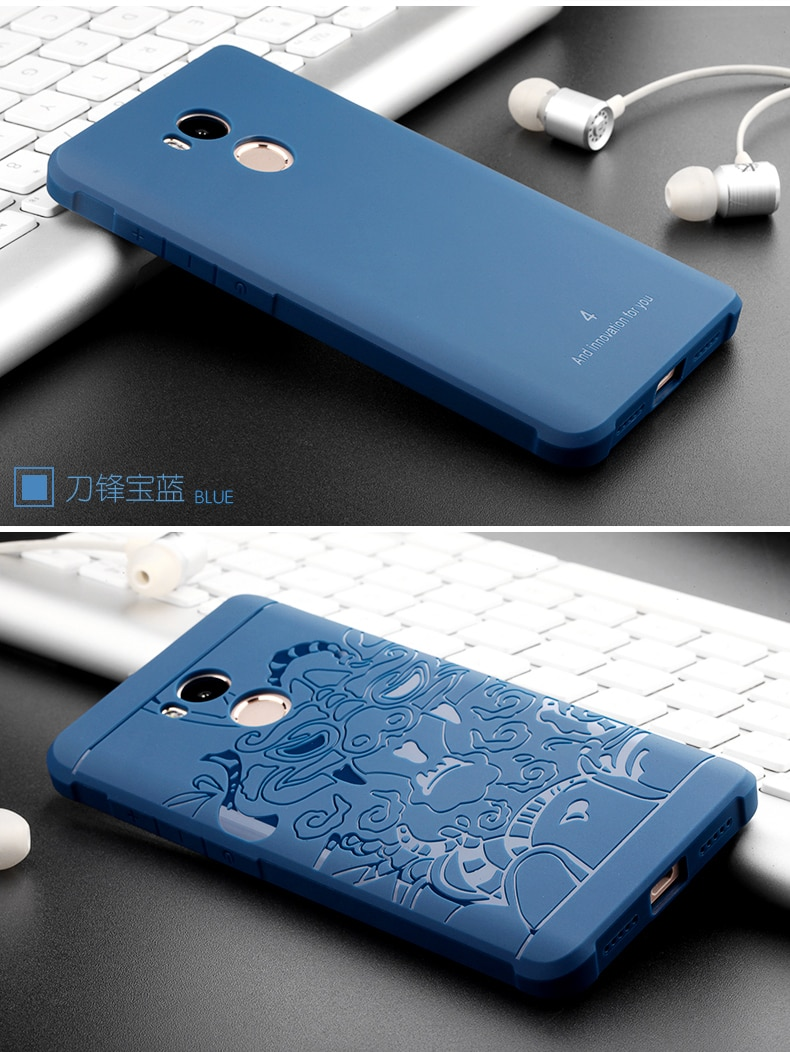 Luksusowe phone case dla xiaomi redmi 4 4pro wysokiej jakości miękkiego silikonu ochronne powrotem objąć przypadki dla xiaomi redmi4 pro shell 19