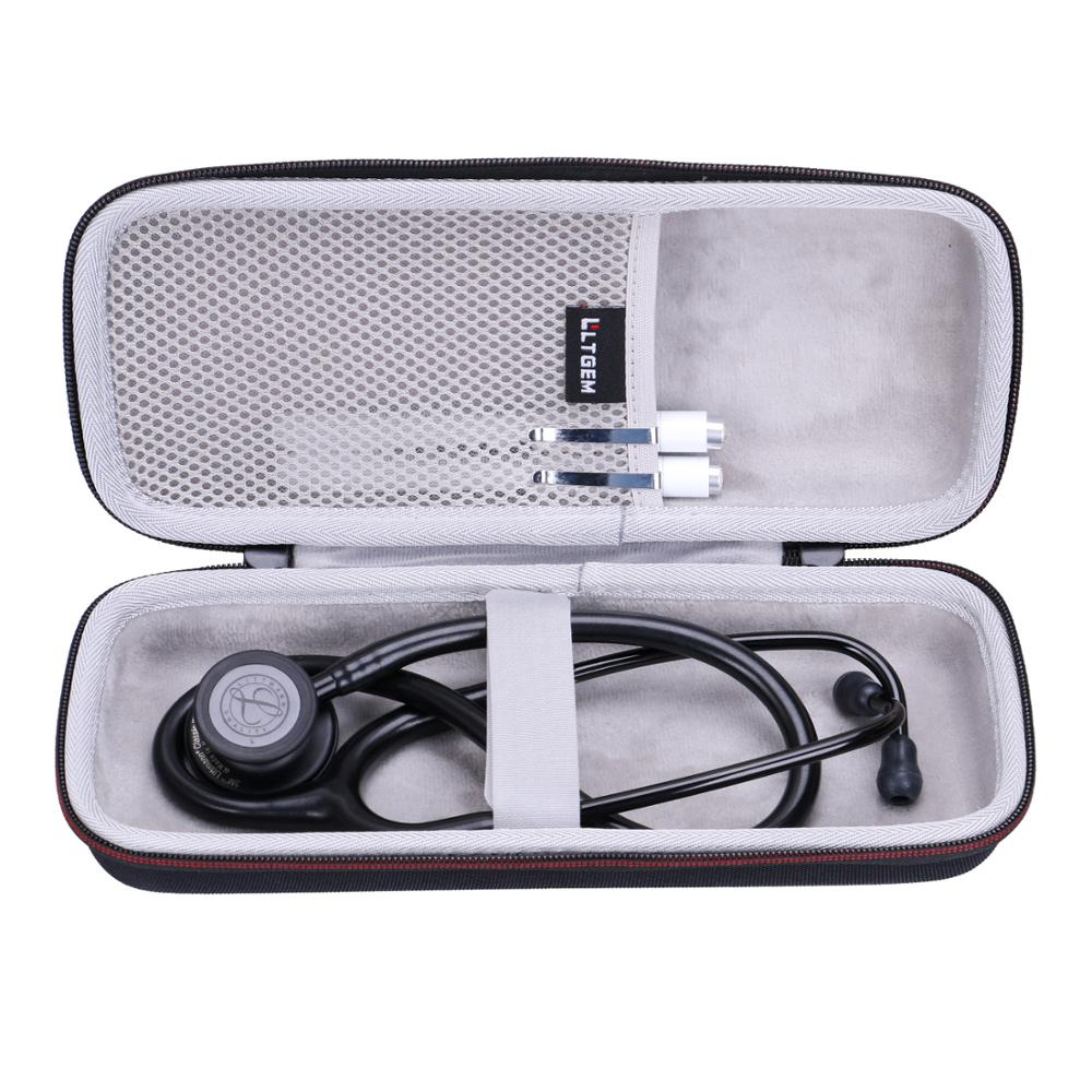 LTGEM EVA Waterproof Shockproof Carrying Hard Case for 3M Littmann Classic III Monitoring Stethoscop