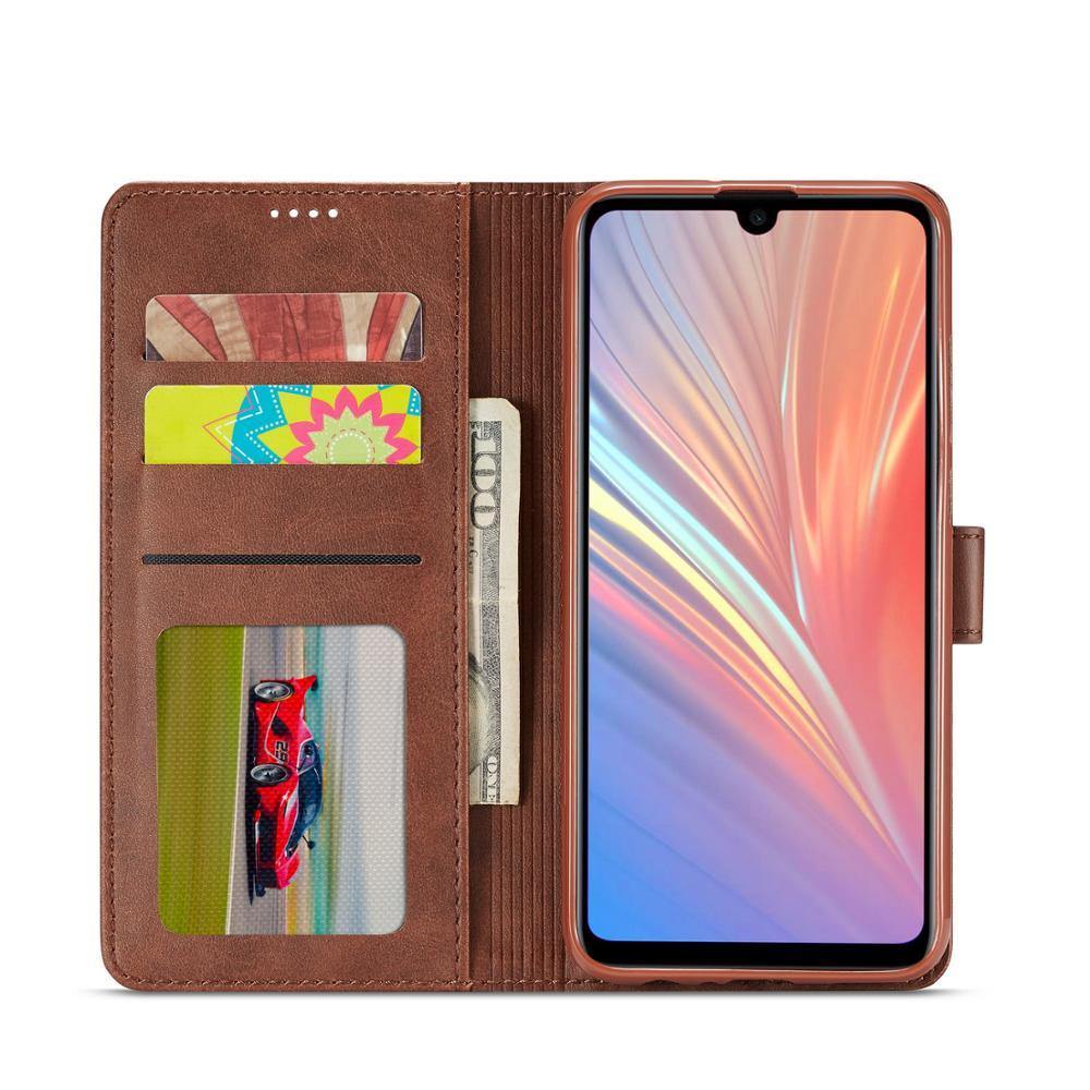 Caixa Do Telefone Para Huawei P Y9 2019 Tampa Inteligente magnético de luxo Couro Flip Caso carteira Para Huawei P Inteligente Estande coque estojo Funda