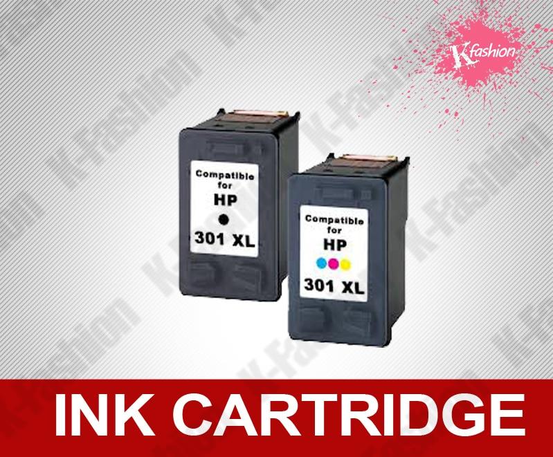 Compatível com cartucho de tinta para HP 301 XL BK + C, tinta para impressora HP Deskjet 1000 1050 1050se 1050A 2050A 2054A 3050A 3052A 3054A