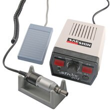 Laboratório dental forte 204 micromotor elétrico máquina handpiece para polimento polidor 35,000 rpm