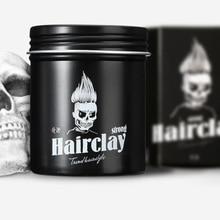 No taste hair clay pomade male hair wax lasting strong styling gel cream moisturizing  nourish not hurt hair #823