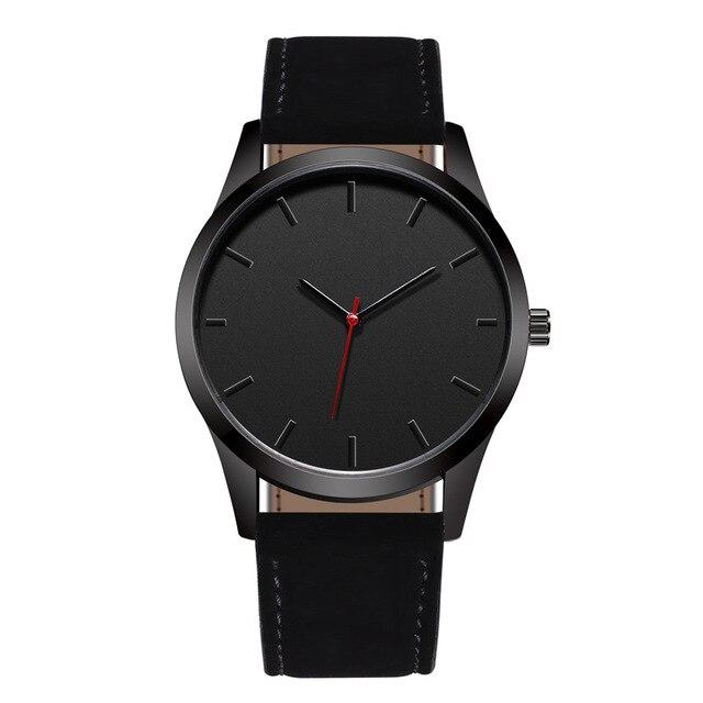 Reloj 2019 Mode Große Zifferblatt Militär Quarz Männer Uhr Leder Sport uhren Hohe Qualität Uhr Armbanduhr Relogio Masculino T