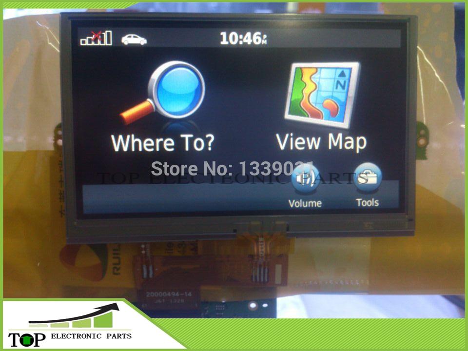 100% probado nueva 4,3 pulgadas de pantalla LCD con pantalla táctil digitalizador para Garmin Nuvi 1350 de 1350 T de reemplazo