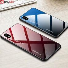 Coque rigide pour Xiaomi Redmi 7A coque en verre trempé Protection complète souple TPT & PC coque de téléphone pour Mi 9T Redmi k20 Pro 6A 7 A
