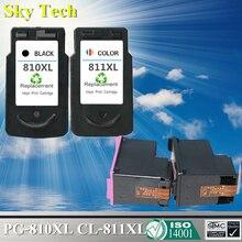 Kwaliteit inkjet Cartridge Voor PG-810XL CL-811XL PG810 CL811, Voor Canon IP2770 MP245 MP258 MP268 MP276 MP486 MP496 MP328 MP338