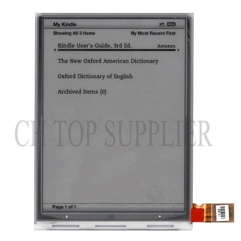 "Pantalla LCD epaper de 6,0 ""e-ink para teclado amazon kindle D00901 Ebook"