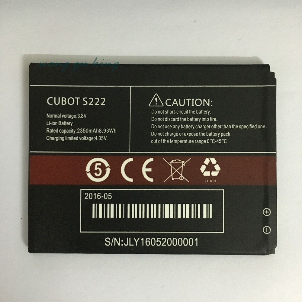 2350mah para cubot s350 s222 bateria batterie akku acce pil acumulador