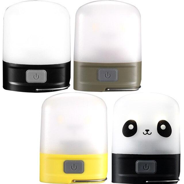 NITECORE LR10 / LR10PANDA Rechargeable Pocket Camping Lantern Micro-USB charging 250 Lumens Built-in 4.44Wh battery 6 Modes