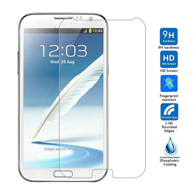 Protector de pantalla de vidrio templado para móvil, película protectora para Samsung...