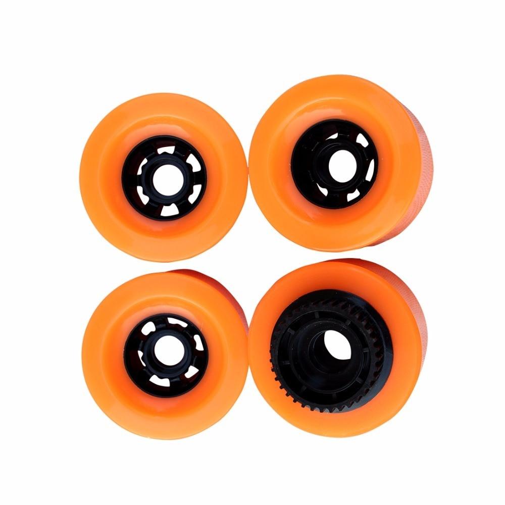 Ruedas de Pu de 90mm con engranaje para patinete eléctrico, ruedas de...