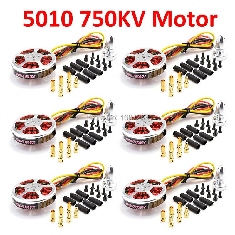 5010 750kv motor sem escova de torque alto para zd550 zd850 rc multi linha central aeronaves multicopter quadcopter