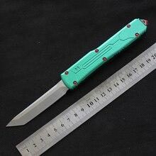 MIKER سكين VG-10 شفرة الألومنيوم التخييم بقاء سكاكين الصيد في الهواء الطلق الصيد التكتيكية EDC أداة عشاء المطبخ سكين