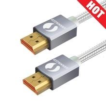 HDMI кабель HDMI 2,0 кабель для IPTV LCD HDMI xbox 360 PS3 4 pro телеприставка Nintendo переключатель проектор 1 м 2 м 3 м 5 м Кабель HDMI