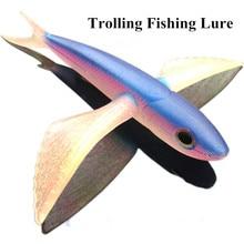 Seawater Fishing Bait Flying Fish Lure 20cm/125g Boat Trolling Tuna Mackerel Thazard 17cm/22cm
