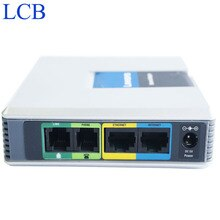 Unlocked Linksys SIP IP Voice Systeem SPA3102 VoIP FAX Telefoon Adapter Router Telefoon Server Telefone Telefon Systeem Gratis Schip