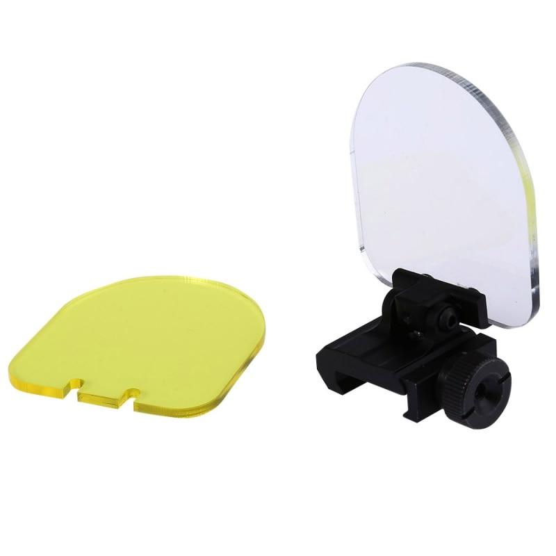 Objetivo de caza Airsoft Riflescopes lente protector punto rojo Airsoft mira óptica transparente lentes a prueba de balas Protector caliente