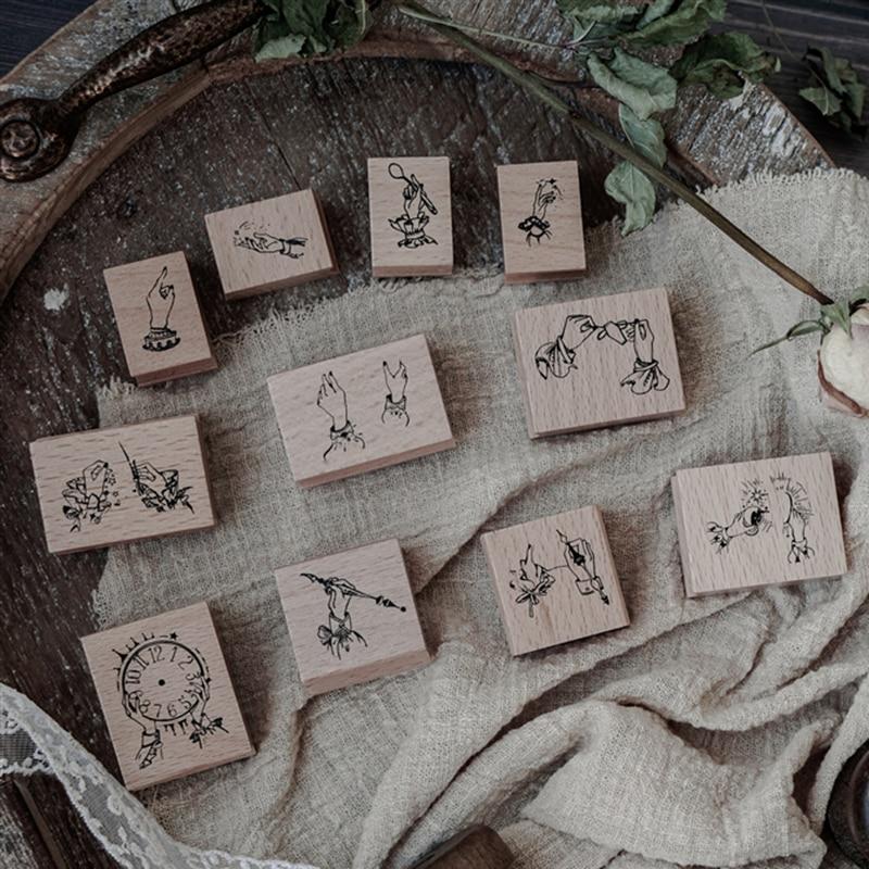 1 pcs série Épica do Homer selo de madeira carimbo de borracha para DIY Handmade Foto Álbum de Scrapbook, carimbo de estudantes de Artes, Artesanato e presentes