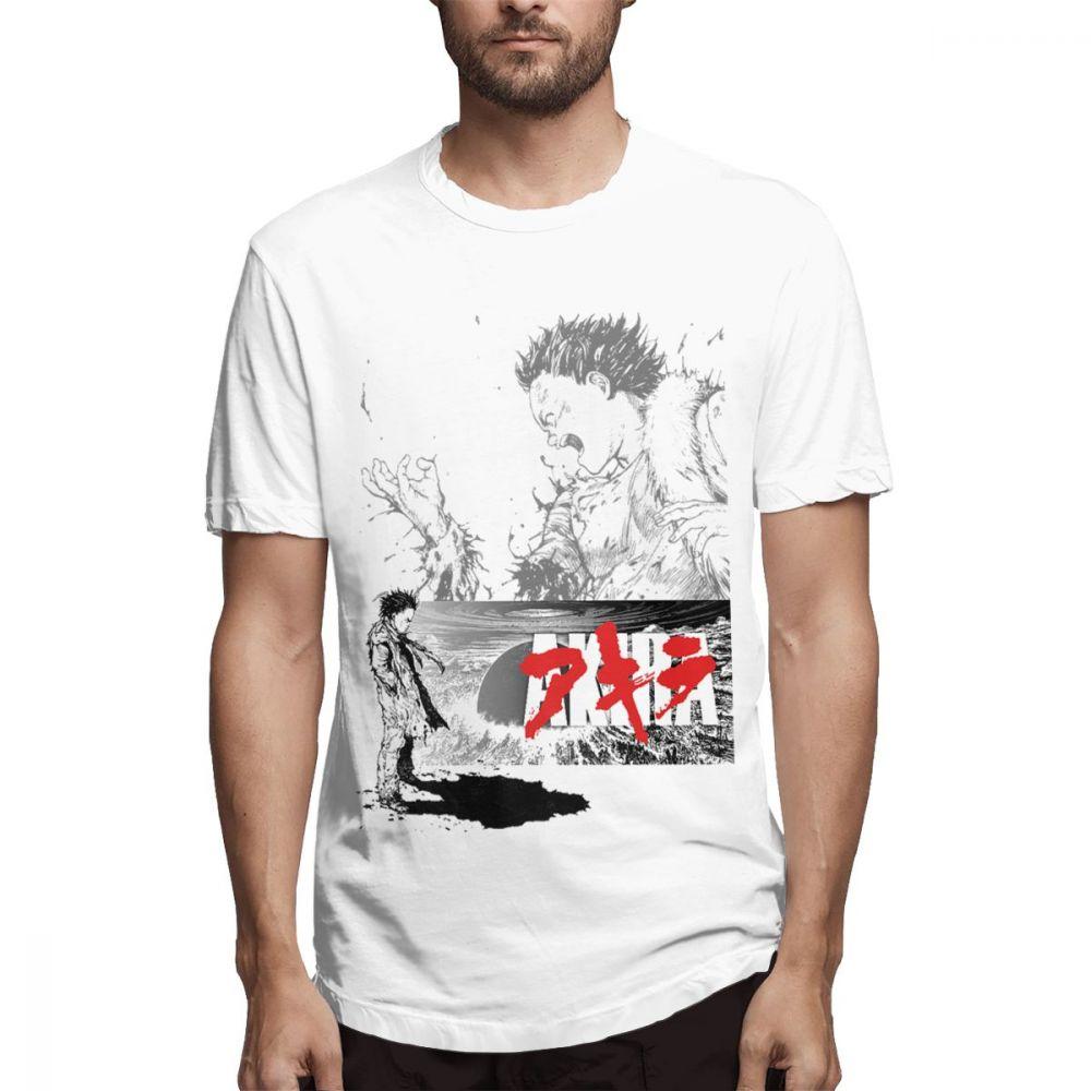 Camiseta Vintage de Anime japonés Akira, Camiseta con estampado gráfico de calidad,...