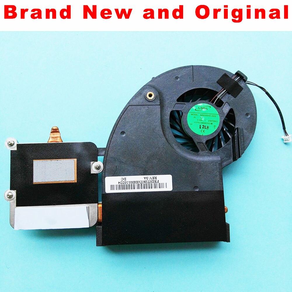 Radiador para Toshiba Qosmio X500 X505 X500-11D X500-12Z X500-14H X500-15M X500-11C portátil disipador CPU ventilador AB9005HX-DD3 CWTZSC