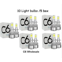 shipping by dhl auto car h8 h3 h11 h7 h4 h1 led headlights 6000k cool white 72w 8000lm cob bulbs diodes automobiles parts lamp