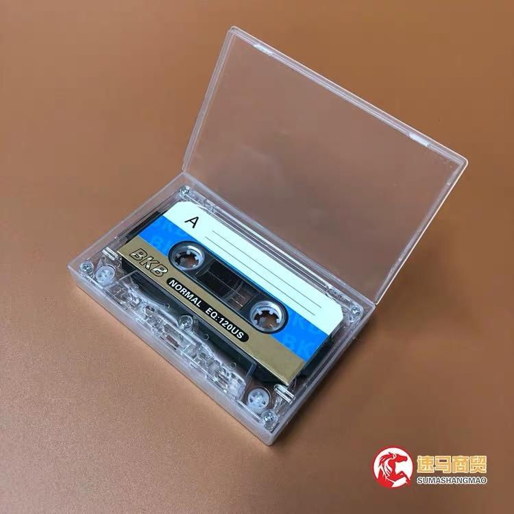 Wholesale 10 pcs BKB C-90 90 Minutes Normal Position Type 1 Recording Blank Cassette Tapes.