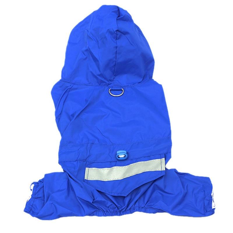 PETFANGFANG Puppy Raincoat Pet Raincoat Waterproof Clothes Dog Puppy Hoodie Pet Raincoat XS-XXL Clothes Raincoat Jacket