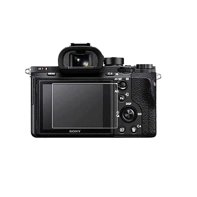 Protector de pantalla LCD de vidrio adhesivo para Sony A7 II III/A7r II III/A7s Markii MK2 ILCE-A7M2 A7M3