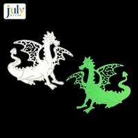 julyarts 10095mm cutting dies animal rooster shape metal embossing stencils scrapbooking photo album diy decorative die cut